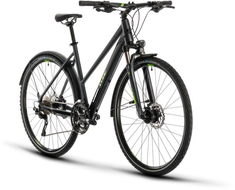 Cube Cross Allroad iridium n green 2020 - Crossrad Damen