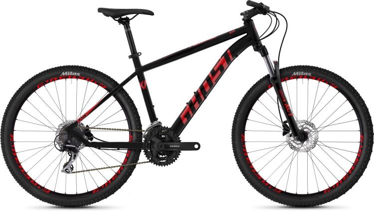 Ghost Kato 2.7 AL U jet black / riot red 2020 - Hardtail Mountainbike