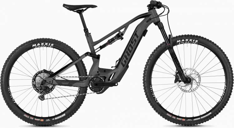 Ghost Hybride ASX 4.7+ AL U rock / jet black 2020 - E-Bike Fully Mountainbike