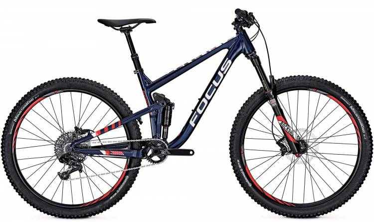 Focus Jam Evo 27 royal blue 2017 - Fully Mountainbike