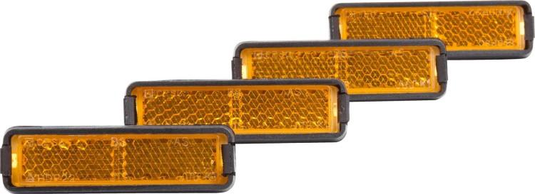 Cube RFR Pedalreflektor Set orange 4 Stück