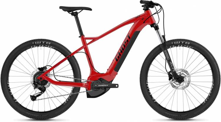 Ghost Hybride HTX 2.7+ riot red / jet black 2020 - E-Bike Hardtail Mountainbike