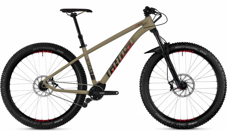 Ghost Roket X8.7+ AL U 2018 - Hardtail Mountainbike