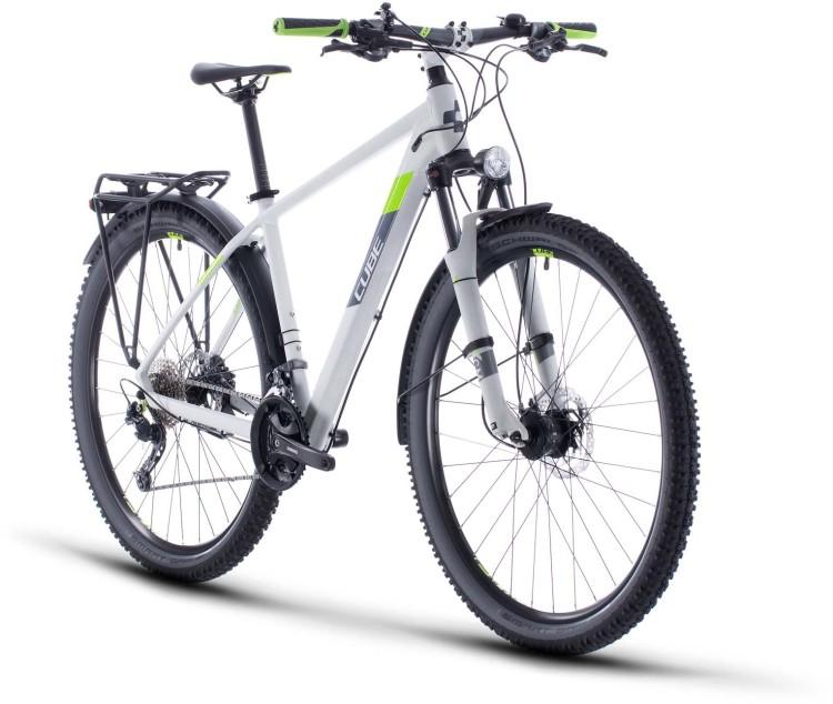 Cube Aim SL Allroad lightgrey n green 2020 - Hardtail Mountainbike