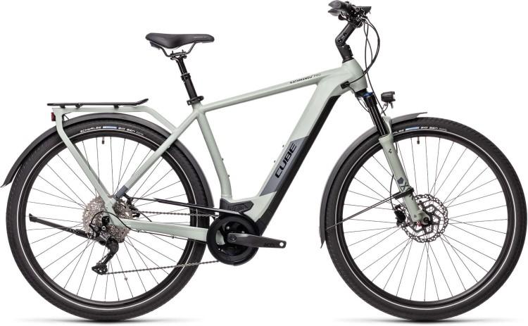 Cube Kathmandu Hybrid Pro 625 lunar n grey 2021 - E-Bike Trekkingrad Herren