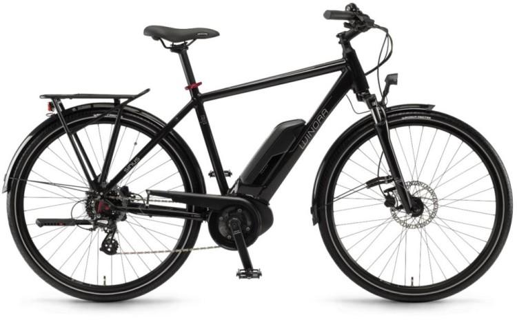 """Winora Tria 7eco 400Wh 28"""" schwarz 2018 - Herren E-Bike Trekkingrad"""