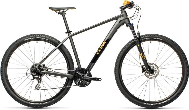 Cube Aim Race darkgrey n orange 2021 - Hardtail Mountainbike