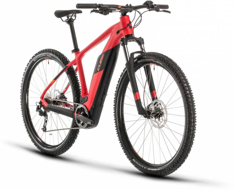Cube Reaction Hybrid ONE 500 red n orange 2020 - E-Bike Hardtail Mountainbike