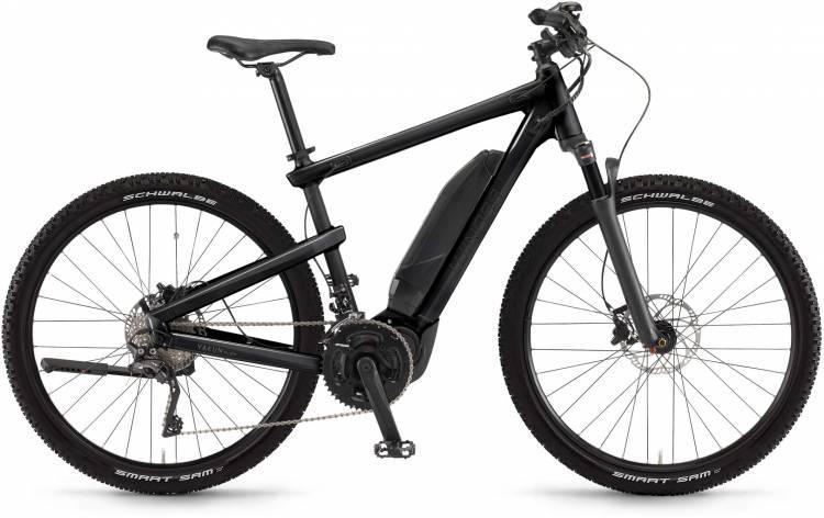 """Winora Yakun plain 500Wh 28"""" schwarz matt/glanz 2017 - Herren E-Bike Trekkingrad"""