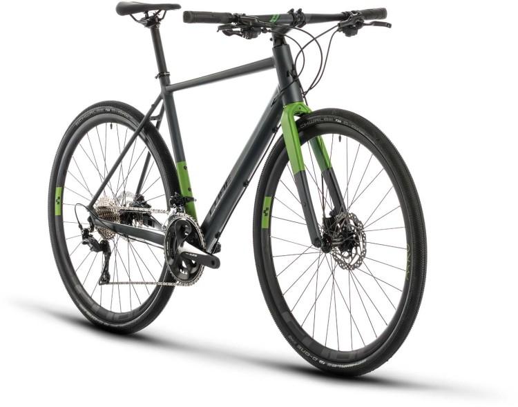 Cube SL Road Race iridium n green 2020 - Fitnessrad Herren