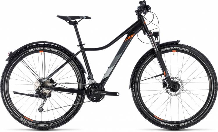 Cube Access WS Pro Allroad black n orange 2018 - Damen Hardtail Mountainbike