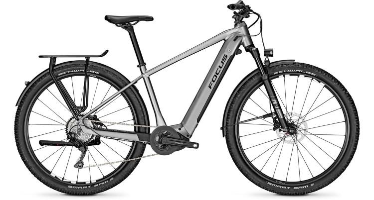 Focus Aventura2 6.8 Toronto Grey 2020 - E-Bike Trekkingrad Herren