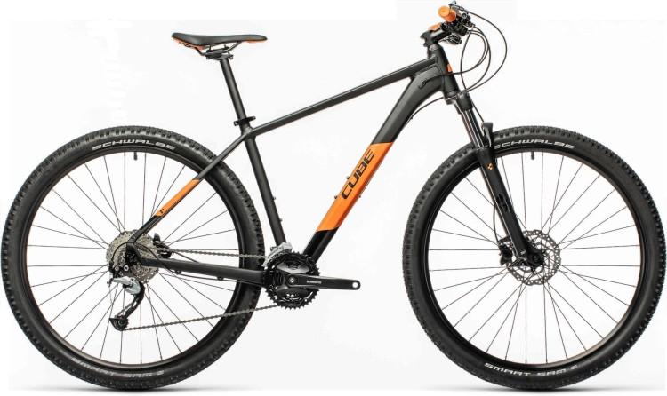 Cube Aim SL black n orange 2021 - Hardtail Mountainbike