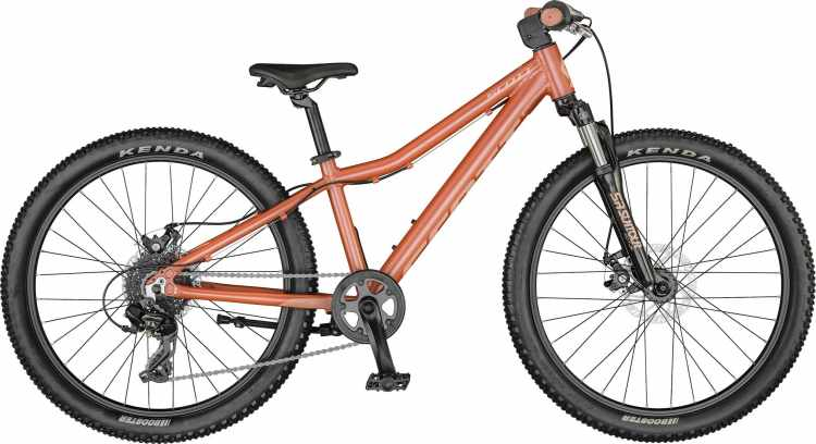 Scott Contessa 24 disc brick red / pink 2021 - Kinderrad 24 Zoll