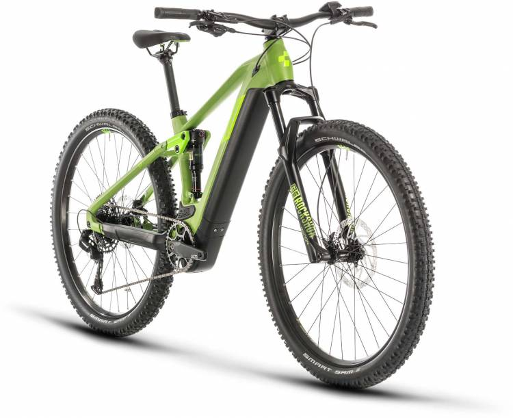 Cube Stereo Hybrid 120 Pro 625 29 green n green 2020 - E-Bike Fully Mountainbike