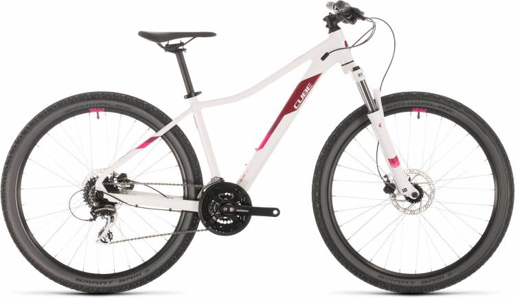 Cube Access WS EAZ white n berry 2020 - Hardtail Mountainbike Damen