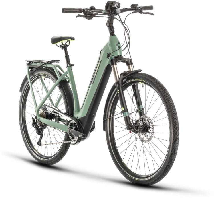 Cube Kathmandu Hybrid EXC 625 green n green 2020 - E-Bike Trekkingrad Tiefeinsteiger