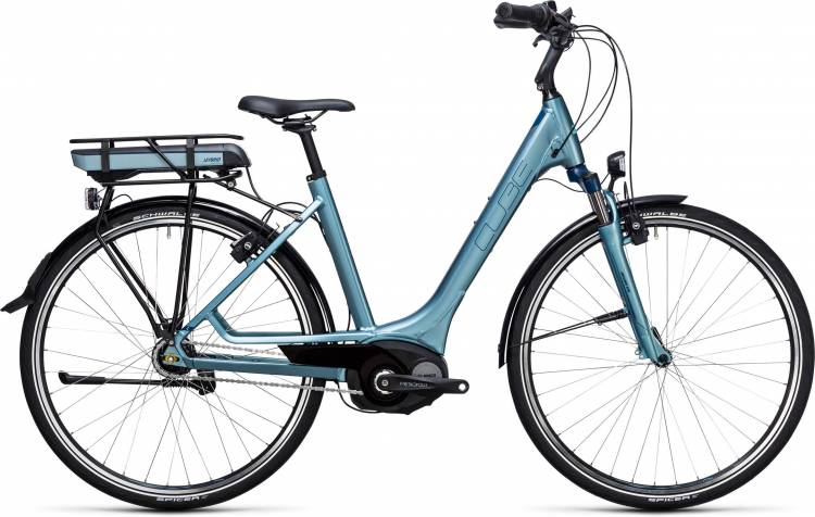Cube Travel Hybrid ONE 500 bluegreen n blue Easy Entry 2017