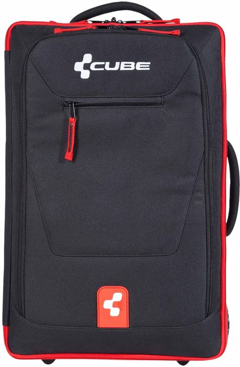 Cube Inflight Trolley WTS 35 black/red