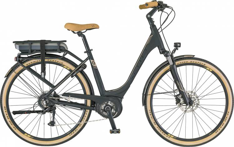 Scott E-Sub Active Unisex (Rack Type) 2018 - Tiefeinsteiger E-Bike Trekkingrad