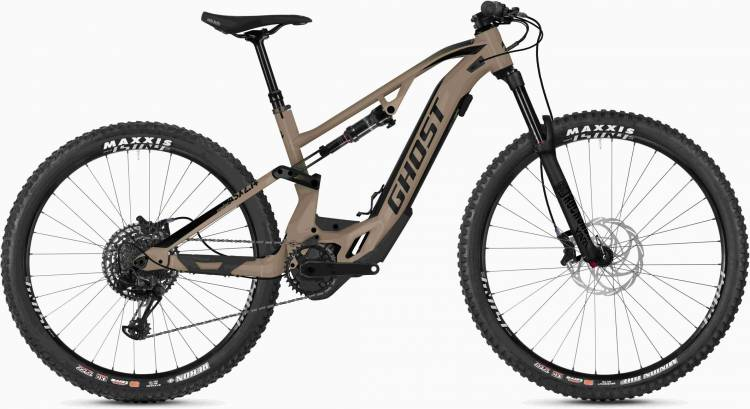 Ghost Hybride ASX 6.7+ AL U dust / jet black 2020 - E-Bike Fully Mountainbike