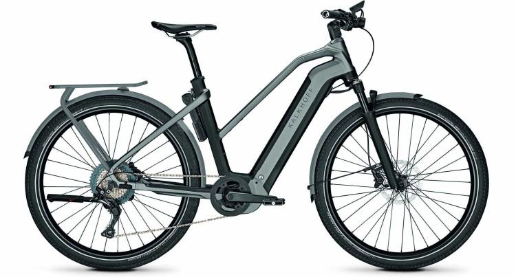 Kalkhoff Endeavour 7.B Advance magicblack/jetgrey matt (Trapez) 2020 - E-Bike Trekkingrad Damen