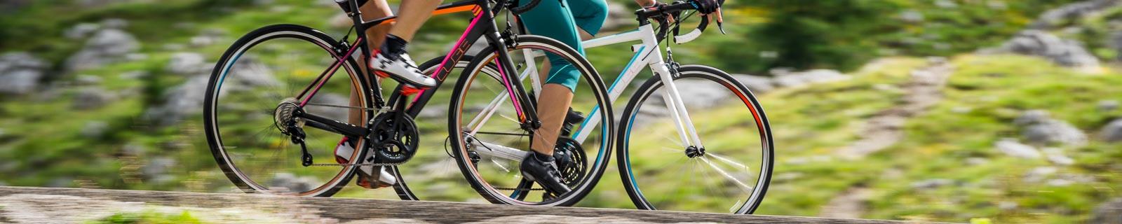 Damen Rennräder aus Carbon und Aluminium