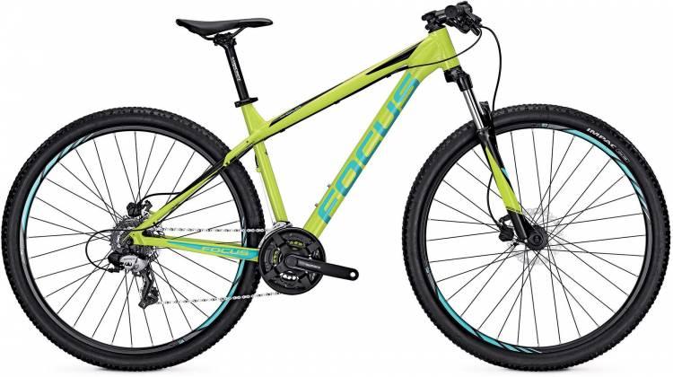Focus Whistler Elite 29 lime green 2017 - Hardtail Mountainbike