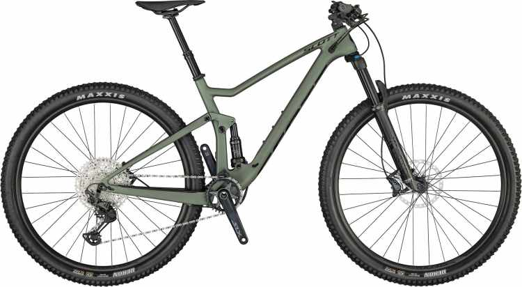 Scott Spark 930 spectrum green / black 2021 - Fully Mountainbike