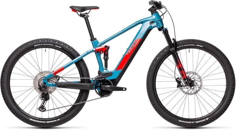 Cube Stereo Hybrid 120 Race 625 blue n red 2021 - E-Bike Fully Mountainbike
