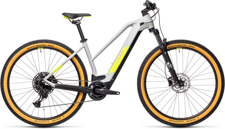 Cube Reaction Hybrid Pro 625 29 grey n yellow 2021 - E-Bike Hardtail Mountainbike Damen