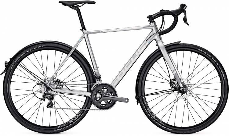 Focus Mares Al Commuter chromosilver 2017 - Cyclocross