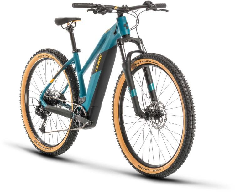 Cube Reaction Hybrid Pro 500 pinetree n orange 2020 - E-Bike Hardtail Mountainbike Damen