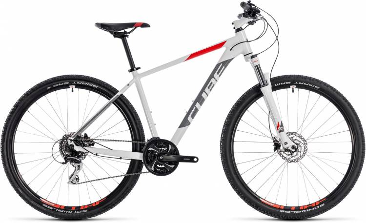 Cube Aim Race white n red 2018 - Hardtail Mountainbike