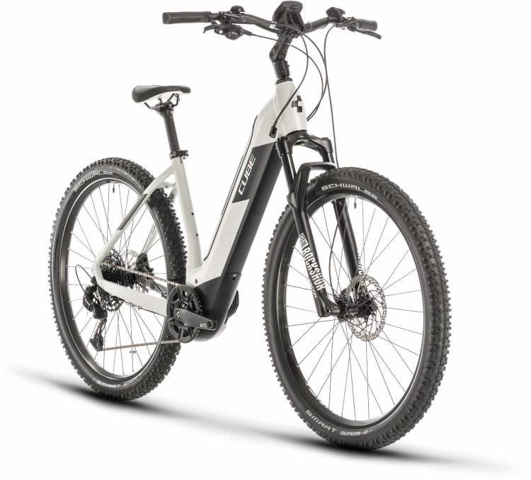 Cube Nuride Hybrid EXC 625 grey n black 2020 - E-Bike Hardtail Mountainbike