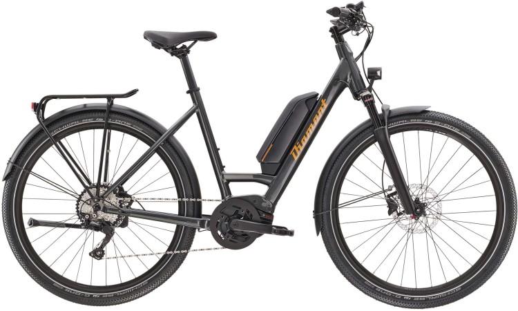 Diamant Zing Deluxe+ TIE Dravitgrau Metallic 2021 - E-Bike Trekkingrad Tiefeinsteiger