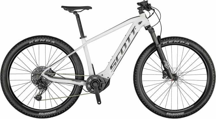 Scott Aspect eRIDE 910 gloss white / silver 2021 - E-Bike Hardtail Mountainbike