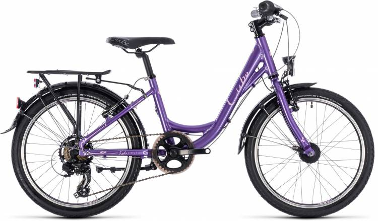Cube Kid 200 Street girl purple n rose 2018 - Kinderrad 20 Zoll