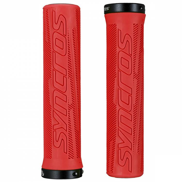 Syncros Griffe Grip Pro Lock-On rally red