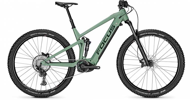 Focus Thron2 6.8 Mineral Green 2021 - E-Bike Fully Mountainbike