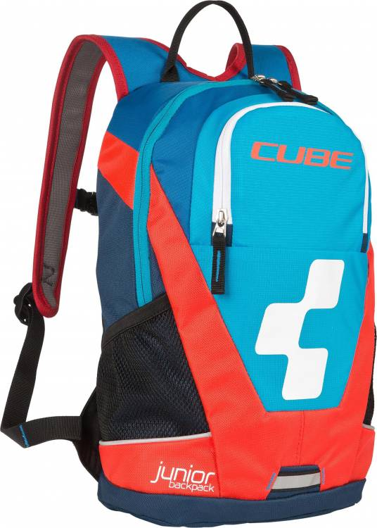 Cube Rucksack JUNIOR Volumen: 10 Liter blue n flashred
