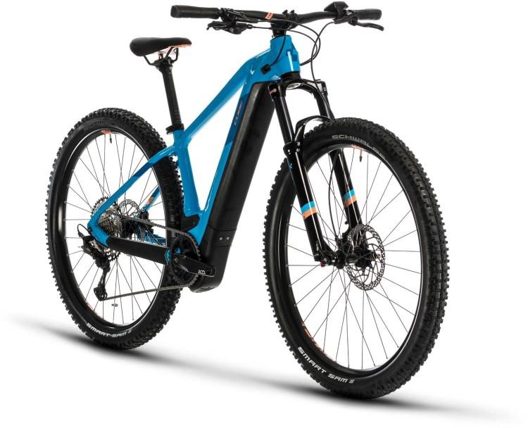 Cube Access Hybrid EXC 500 29 reefblue n apricot 2020 - E-Bike Hardtail Mountainbike