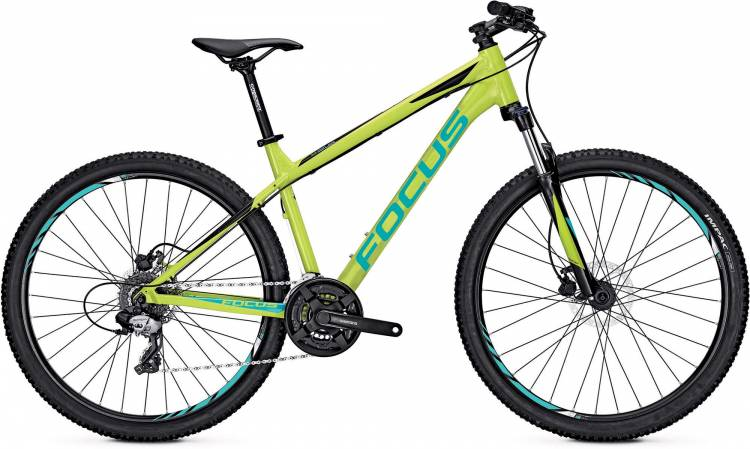 Focus Whistler Elite 27 lime green 2017 - Hardtail Mountainbike