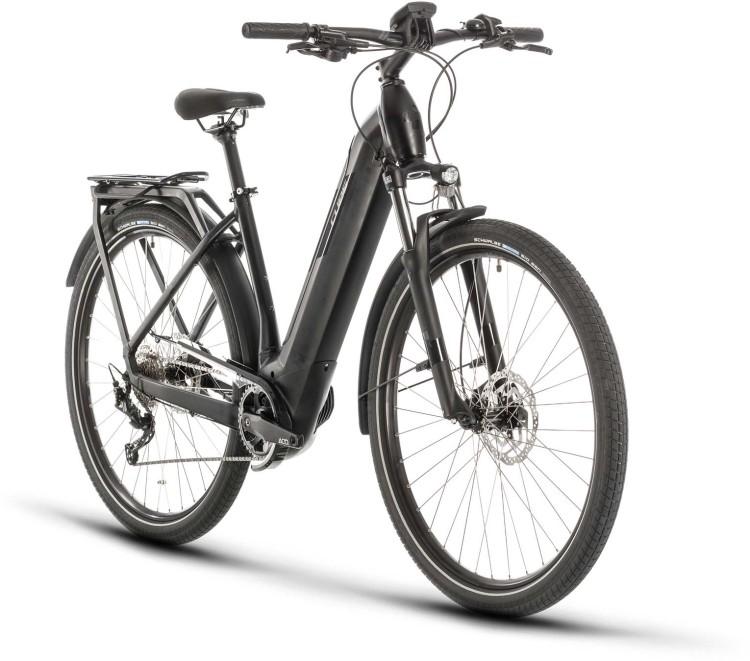 Cube Kathmandu Hybrid ONE 500 black n grey 2020 - E-Bike Trekkingrad Tiefeinsteiger