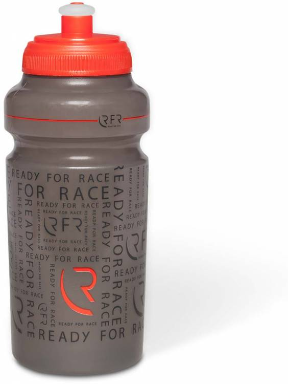 RFR Trinkflasche 0,5l black n red