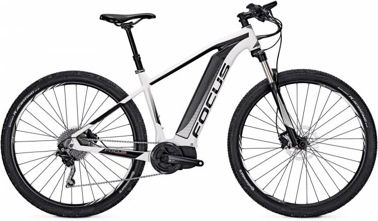Focus Jarifa I29 white/black 2017 - E-Bike Hardtail Mountainbike