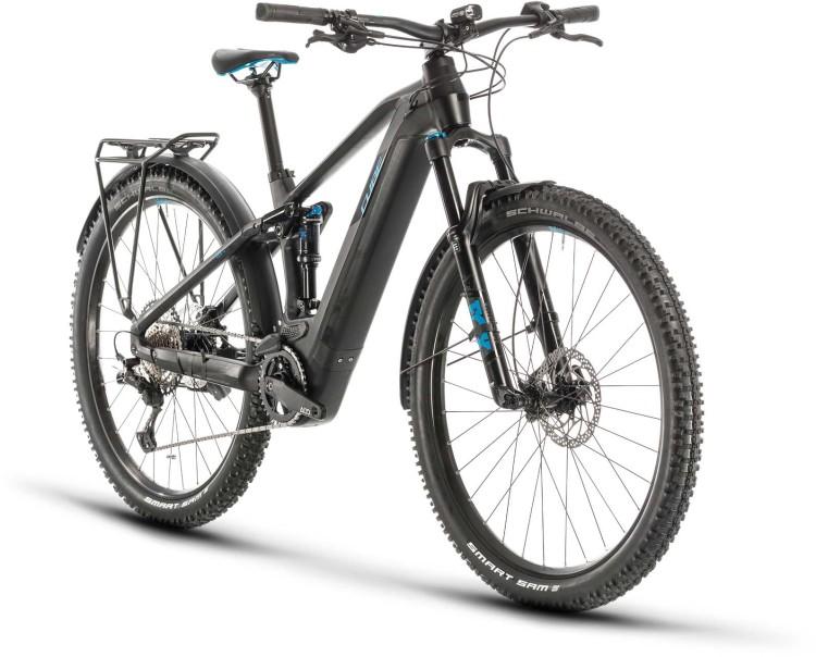 Cube Stereo Hybrid 120 Race 500 Allroad 29 black n blue 2020 - E-Bike Fully Mountainbike