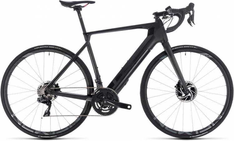 Cube Agree Hybrid C:62 SLT Disc black edition 2018 - E-Bike Rennrad