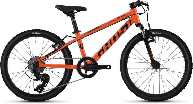 Ghost Kato 2.0 AL U monarch orange / jet black 2020 - Kinderrad 20 Zoll
