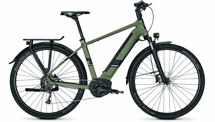 Kalkhoff Entice 5.B Move urbangreen matt (Diamond) 2020 - E-Bike Trekkingrad Herren